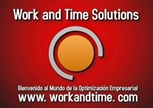 logotipo de WORK AND TIME SOLUTIONS SL